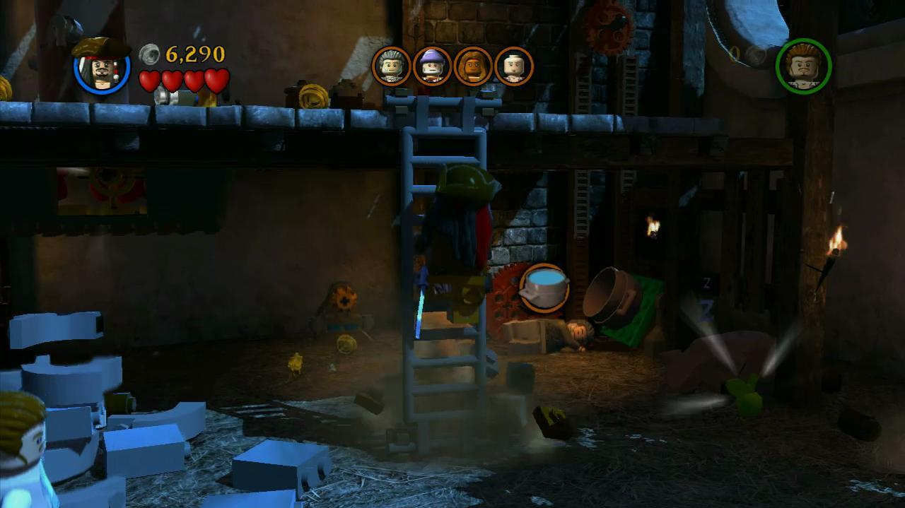 NextGenWalkthroughs LEGO PotC - Pt. 1 - Ch. 2 Tortuga