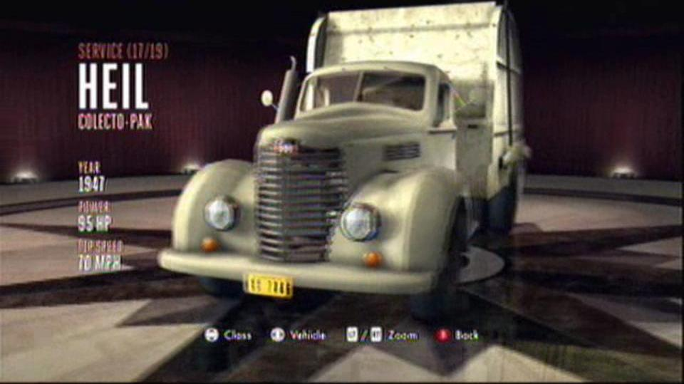 L.A. Noire Hidden Vehicles Service - Heil Colecto-Pak - Central