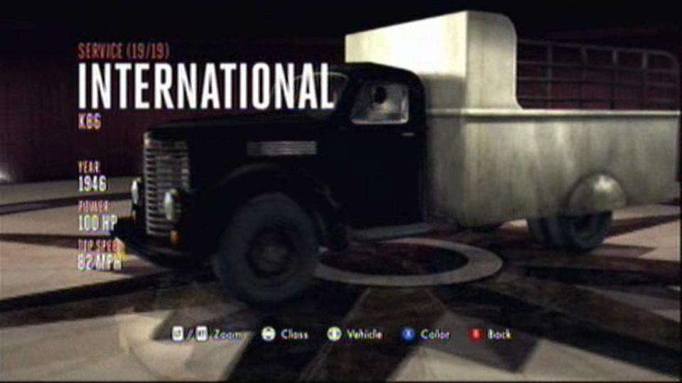 L.A. Noire Hidden Vehicles Service - International KB6 - East Downtown
