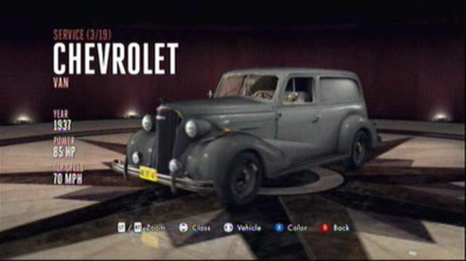 L.A. Noire Hidden Vehicles Service - Chevrolet Van - Westlake