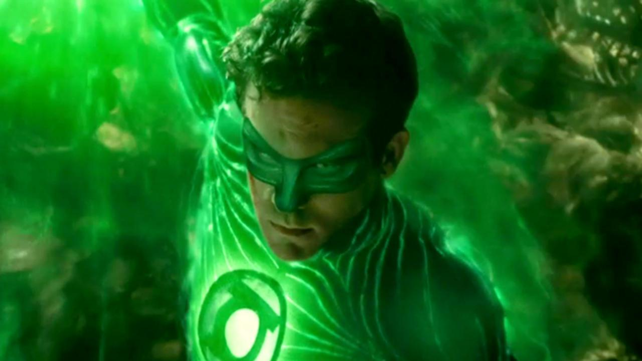 Green Lantern Clip - Fighting Parallax