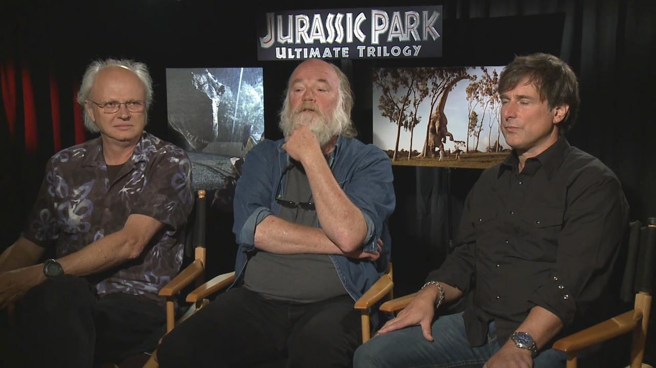 The Men Behind the Magic of Jurassic Park