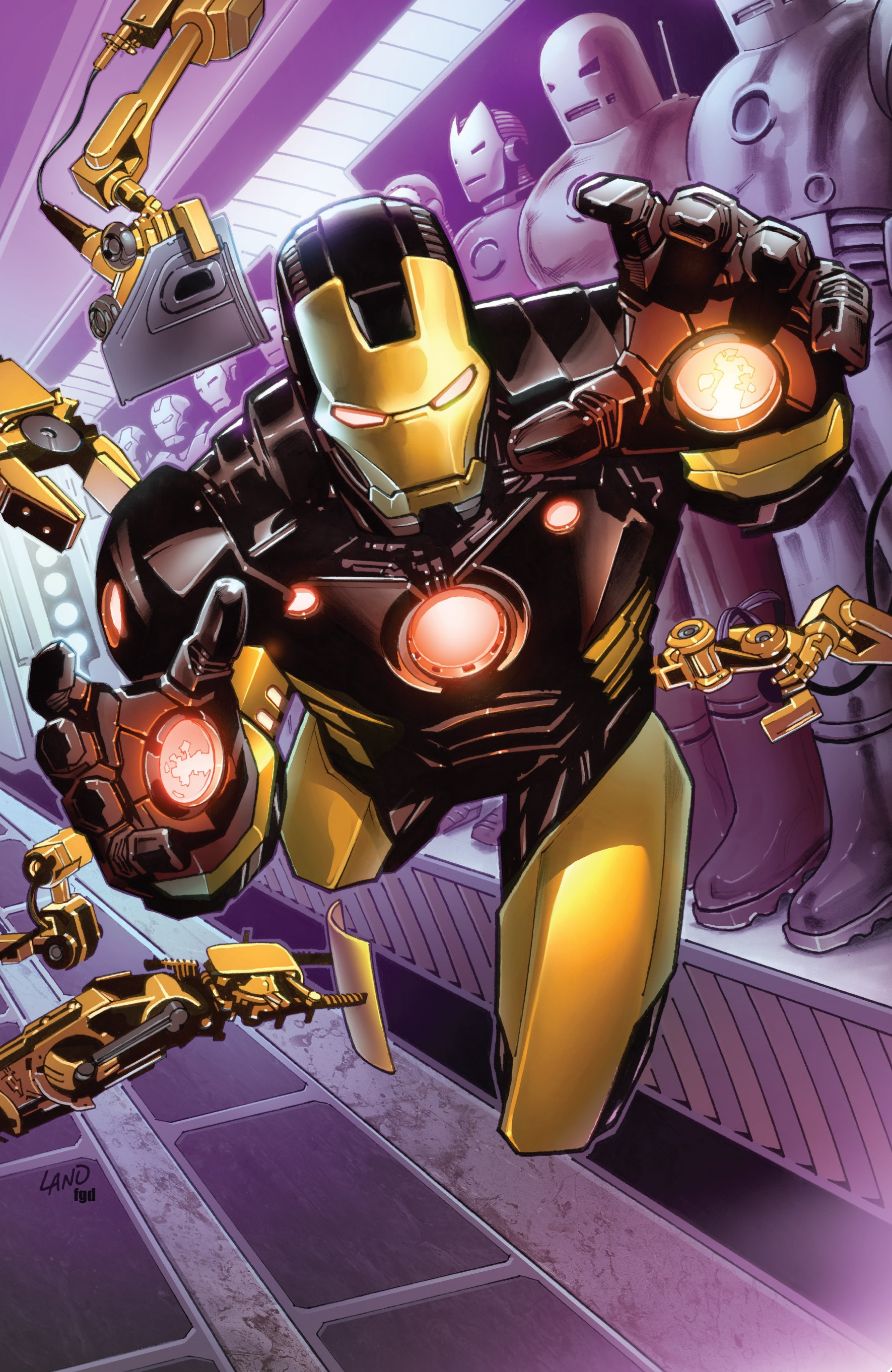 Iron Man Vol 5 1 Marvel Comics Database