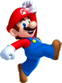 Mario Jump NSMBU