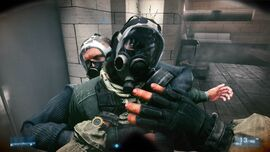Battlefield 3 Gas Mask