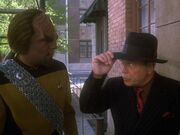 Worf and the hitman