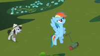 Rainbow Dash &#39;I have just saved that grass&#39; S2E08