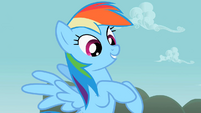Rainbow Dash knew it S2E8