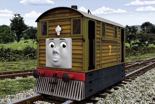 Toby - Thomas and friends Wiki