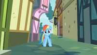 Rainbow Dash why! S2E8