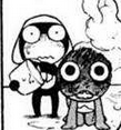 Keroro burned head