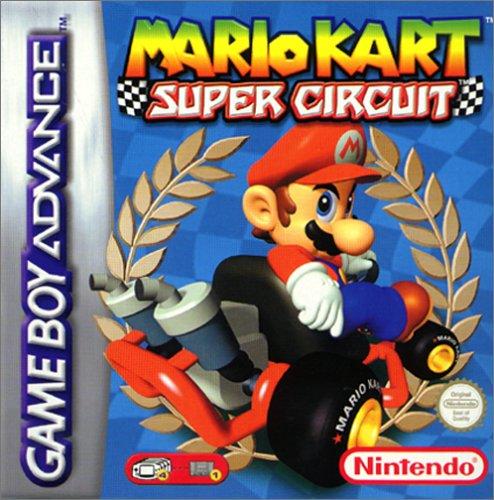 Mario a través del tiempo. Mario_Kart_Super_Circuit_Caratula
