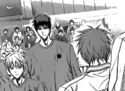 Akashi with Kuroko and Kagami