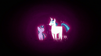 Mini Twilight and Shining together S2E25