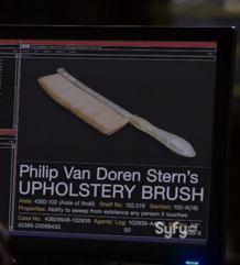 Philip Van Doren Stern&#39;s Upholstery Brush