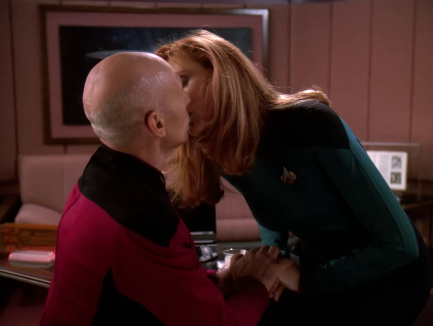 picard and crusher relationship