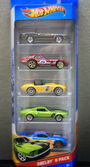 Shelby 2012 hot wheels 5 pack
