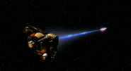 Hirogen holoship weapons