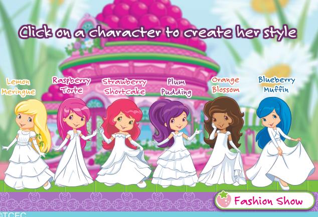 Online Games - Strawberry Shortcake Berry Bitty Wiki