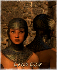 Armour Head Chain Coif