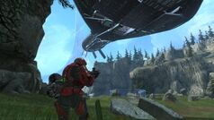 Halo Reach CCS Battlecruiser