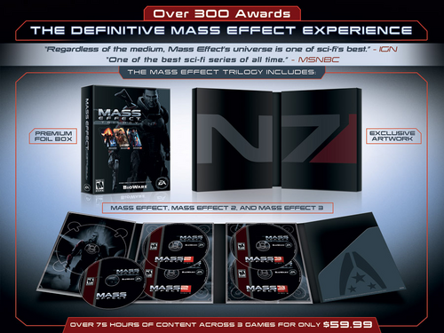 Mass Effect Trilogy Contents