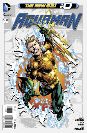 Cover for Aquaman #0
