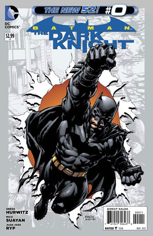 Cover for Batman: The Dark Knight #0