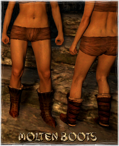 Armour Legs Molten Boots