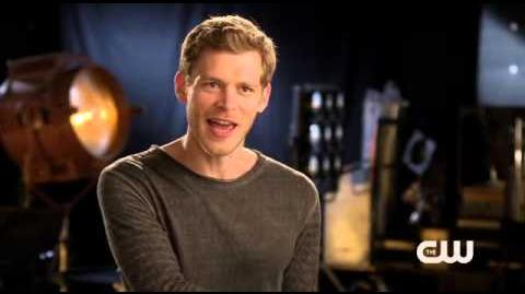 The Vampire Diaries - Joseph Morgan Interview