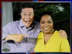 Stephenoprah new black friend