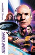 Star Trek TNG Omnibus cover