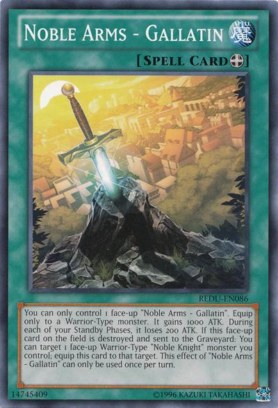 Noble Arms - Gallatin - Yu-Gi-Oh!
