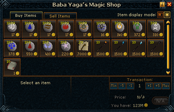 Baba Yaga&#39;s Magic Shop stock