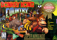 Donkey Kong Country (Player's Choice) (NA)