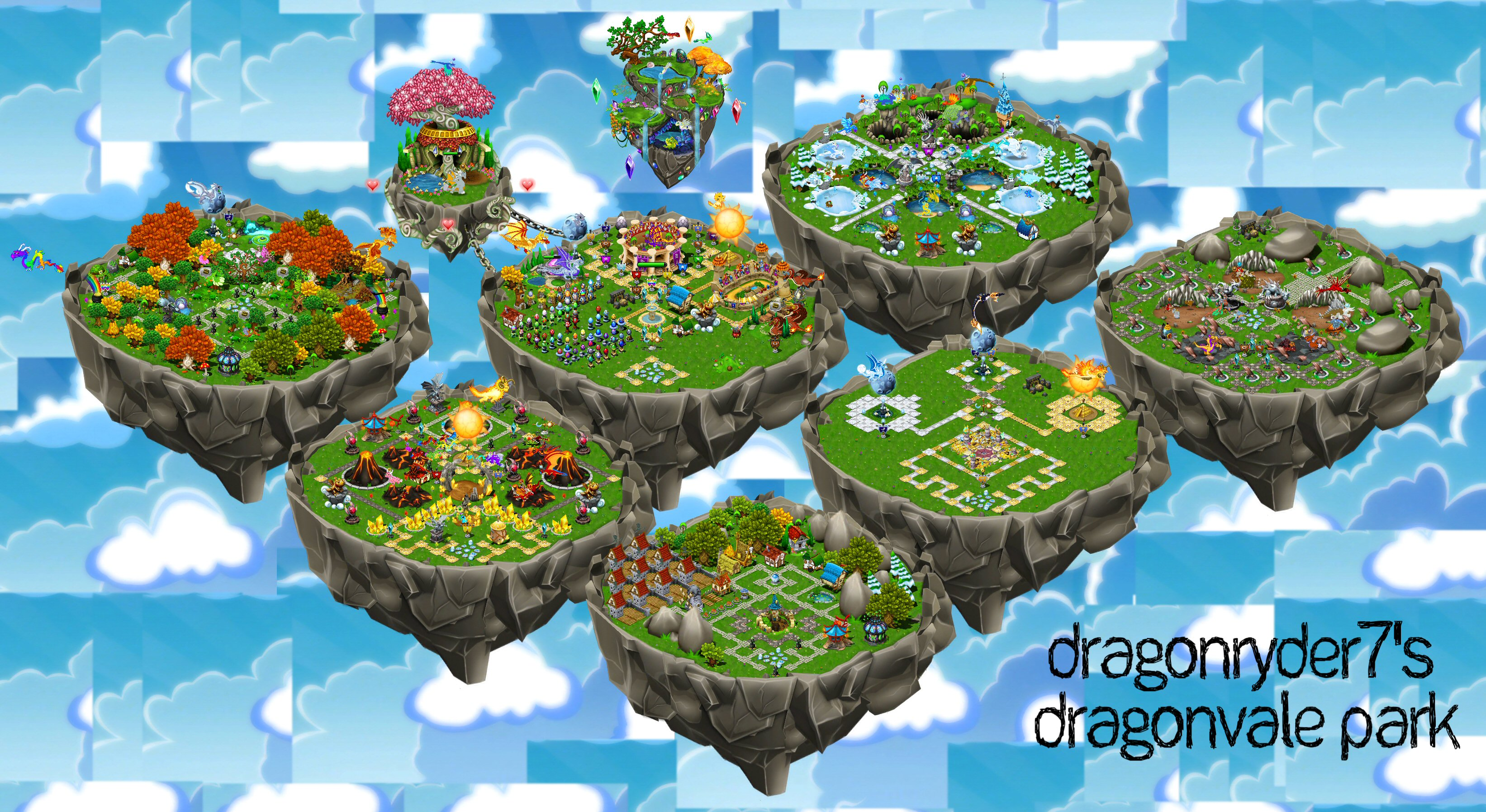 User blog:DragonRyder7/My DragonVale Park - DragonVale Wiki