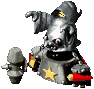 Smithy (Magic Head Formation) Sprite (Super Mario RPG)