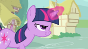 Twilight confidently using her magic S2E24