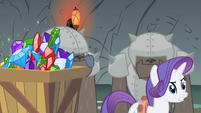 Rarity bathed in weeks S1E19