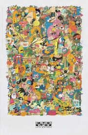 Cartoon Network's Twentieth Anniversary Poster