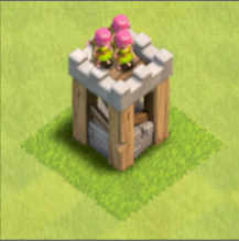1-2  Archer Tower | =☆ Clash of Clans 공략 & Tip ☆=