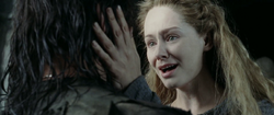 Eowyn and Aragorn in Two Towers