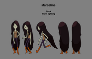Modelsheet marcelinestockwarmlighting