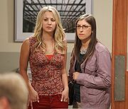 TBBT 6x03 Penny and Amy
