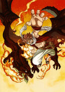 Natsu and Igneel (Fantasia) 02 small