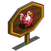 Love Chicken Mastery Sign-icon