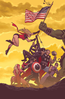 Dark Avengers Vol 1 184 Textless