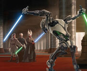Ti Allie vs Grievous