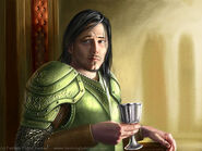 Renly Baratheon by Henning Ludvigsen, Fantasy Flight Games©