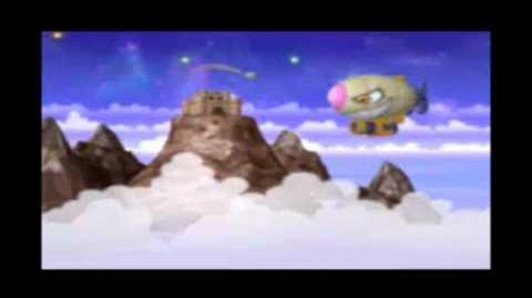 Kirby Super Star Ultra - Revenge Of The King - Stage 4 Mt. DeDeDe Sky